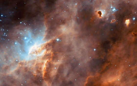 stars, космос, star, hubble, газовый, пыль, esa, telescope,