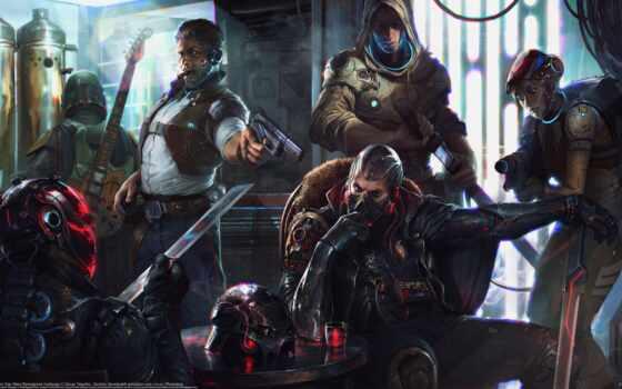 cyberpunk, star, war, biker, challenge, reimagine, fentezti, deny, art