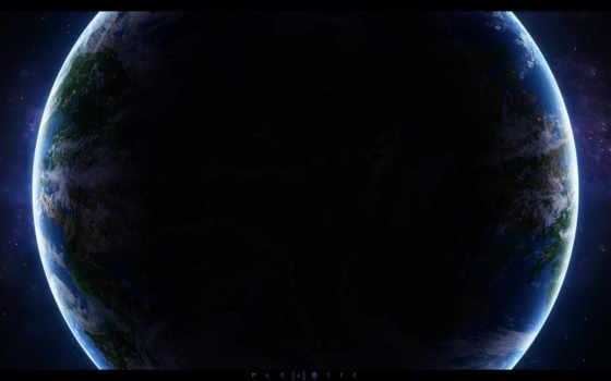 земля, космос Фон № 24825 разрешение 2560x1600