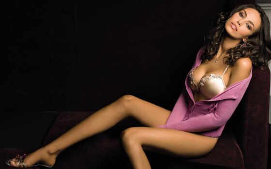 девушка, ножки, диван, devushki, madalina, diana, розовой, ghenea, взгляд, лицо,