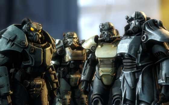 fallout, доспех, силовая, моды, реалистичная, прочная, gameplay,