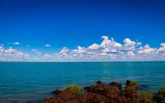 море, windows, enterprise, обновление, небо, скалистый, берег, горизонт, matros, издание,