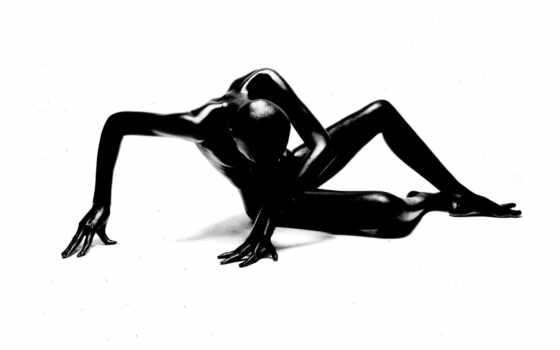 креатив, силуэт, чёрное, тело, white, страница,