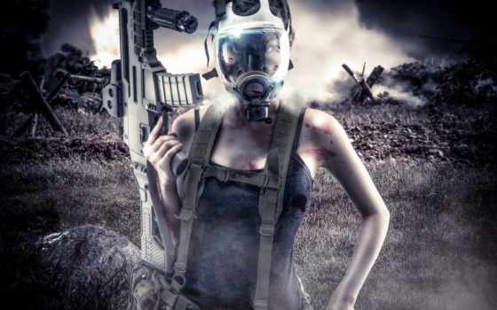 маска, акпп, девушка, обстановка, солдат, дым, рейтинг, страница, devushki,