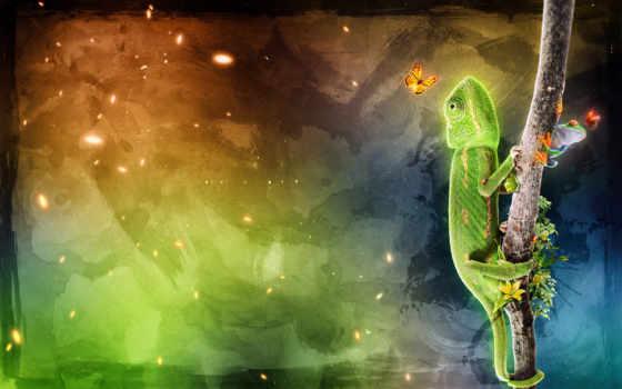 iguana, ago, fondos, pantalla, over, animal, year, free, background, donde, una, metalizado, logo,