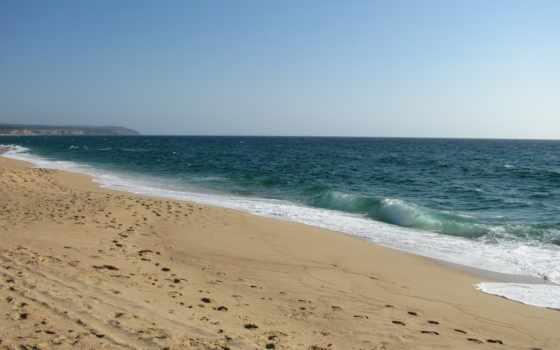 море, песок, ocean