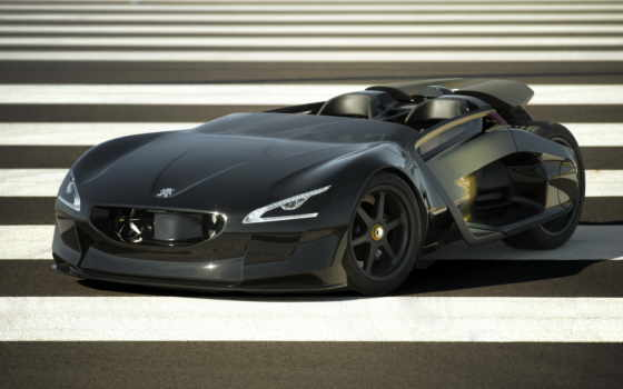 peugeot, concept, кар