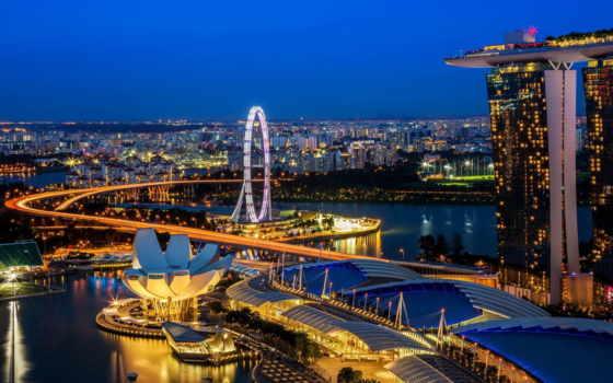 singapore, город, достопримечательности