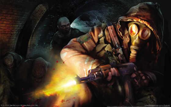 stalker, игровые, chernobyl