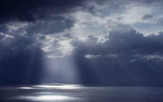dark, небо, clouds