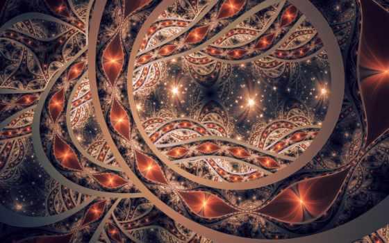 fractal, абстракция, узоры, линии, dark, browse, листва, страница, htc, формы,