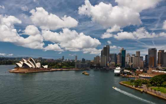 sydney, house, сиднее, opera, австралия, skies, мост, которые, www, gif,
