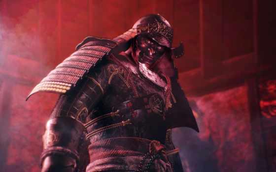 nioh, самурай, obsidian, boss, скриншотов, битвы, персонажи, скриншоты,