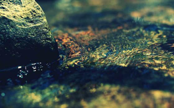 imac, water, прекрасно, подойдет, горы, воде, камень, прозрачной, разных, планом, разрешениях,
