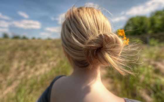 спины, девушек, блондинок, аву, волосы, спине, фотографий, winter, красивая,