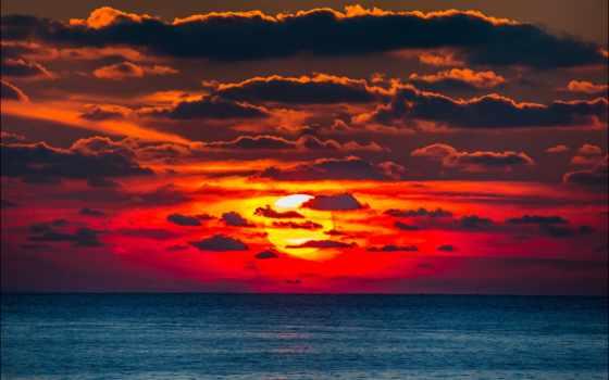закат, red, sun, море, purple, white, чёрное, россия, крымский, со, холод,