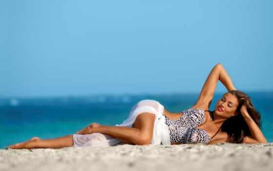 пляж, fashion, babe, женский, модель, девушка, sexy, swimwear, sensual, женщина