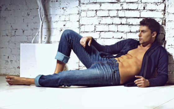 polo, shirt, jeans