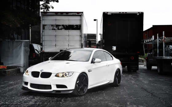 bmw, white, грузовики