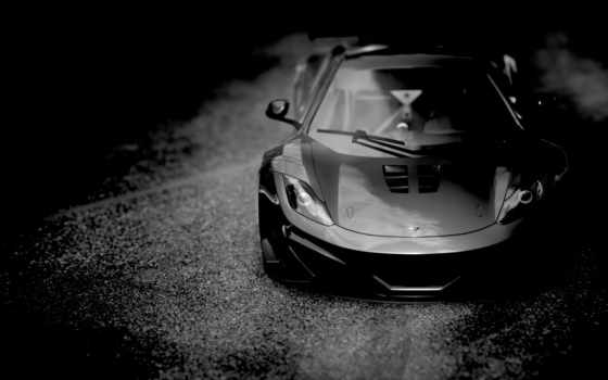 авто, автомобили, за, зависть, jpeg, черная, макларен, главная, круто, slowly, машина,