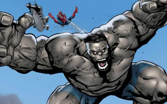 hulk, мужчина, серый