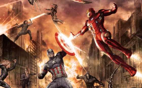 war, civil, america, captain, iron, мужчина, команда, black,