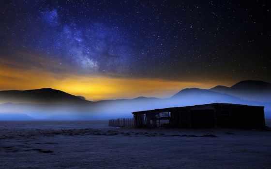 ди, ночь, небо, природа, castelluccio, фото, путь, crazy, fotografia, млечный,
