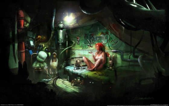 cyberpunk, pinterest, плакат, город, this, deviantart,