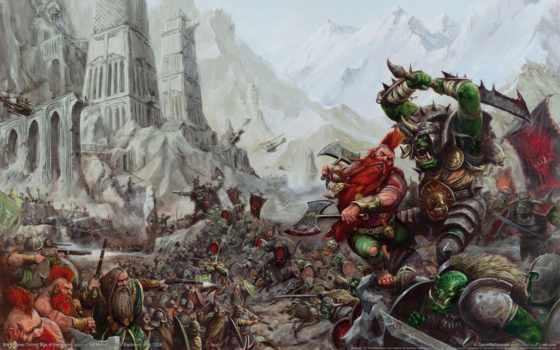 warhammer, fantasy, total, war, орки, everything, rasy, битва, гном, online,