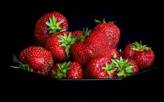 клубника, black, ягода, snapseed, плод, meal, оригинал, вкусно, добавить, десерт, натюрморт