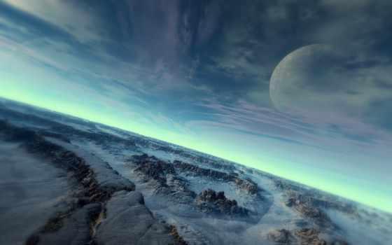 космос, планета Фон № 2029 разрешение 1920x1200