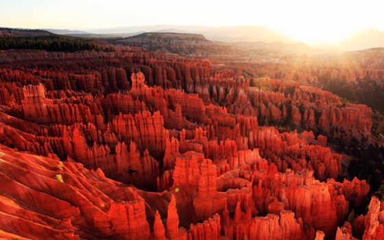каньон, bryce, park, national, utah, панорама, rocks,