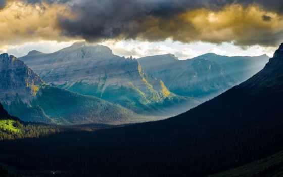 glacier, park, national, montana,