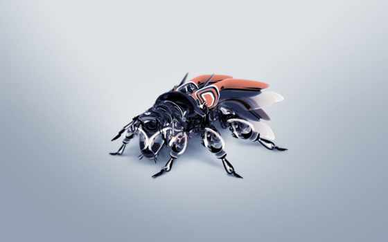 fly, robot, abali