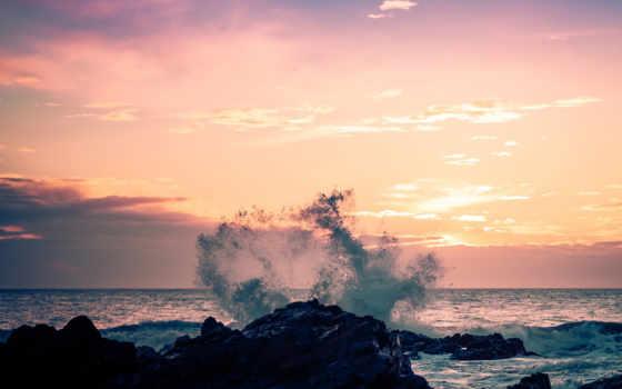 waves, по, разбиваются, rave, морские, канал, море, разных, разрешениях, прибрежные,