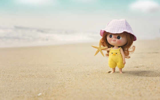 doll, пляж, море, panama, summer, pin, cute, little, также, dollhouse