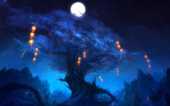 ночь, огни Фон № 19750 разрешение 2560x1600