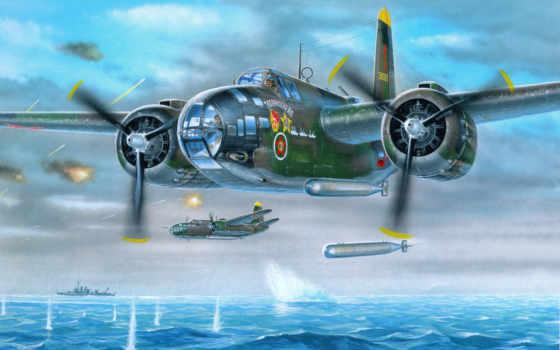 самолеты, рисованные, авиация
