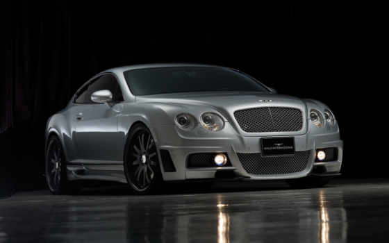 bentley, continental, тюнинг, обвес, wald, black, издание, бизон,