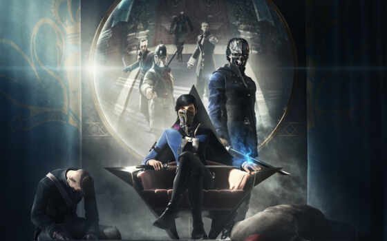 dishonored, attano, corvo, bethesda, emily, корво, игры,
