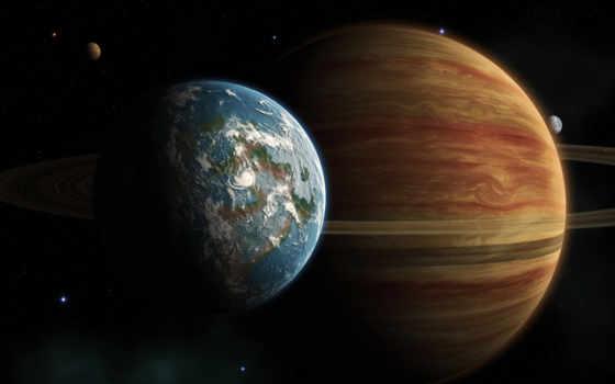 universe, планеты, nebula