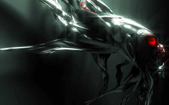 dark, существо, абстракция