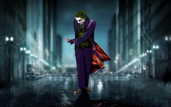 joker, леджер, рыцарь, dark, хит, black, batman,