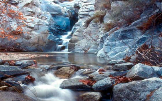 водопад, водопады, гора, www, осень, опубликовано, корабли, горной, ручей, eu,