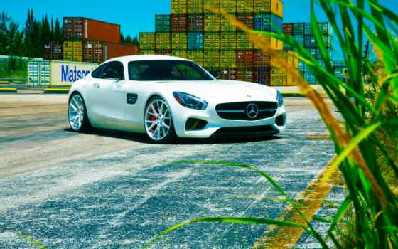 amg, vossen, mercedes, wheels, forged, benz, white,
