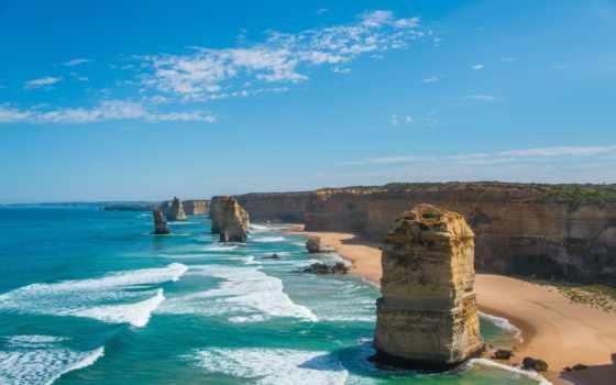 apostles, но, австралии, только, красавица, twelve, австралия, идеальная, daikin, говори, пейзажи -,
