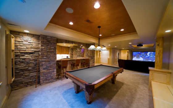 комната, game, интерьер, desigen, бильярдный, картинка, bar, столик, design,