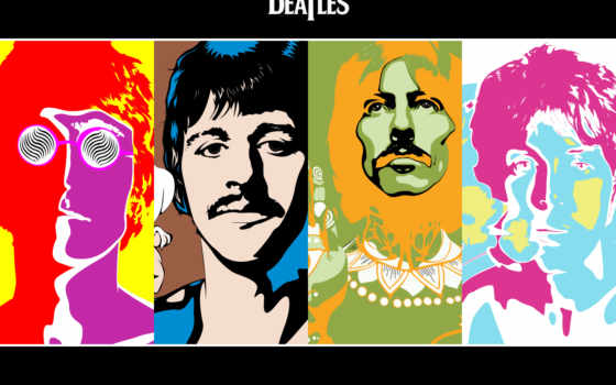 art, beatles, попа