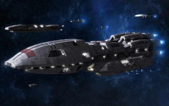 корабли, космические, корабль