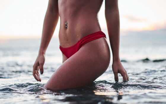 бикини, red, new, swimwear, женщина, доктор, пляж, aesthetic, effektivnyi, bottom